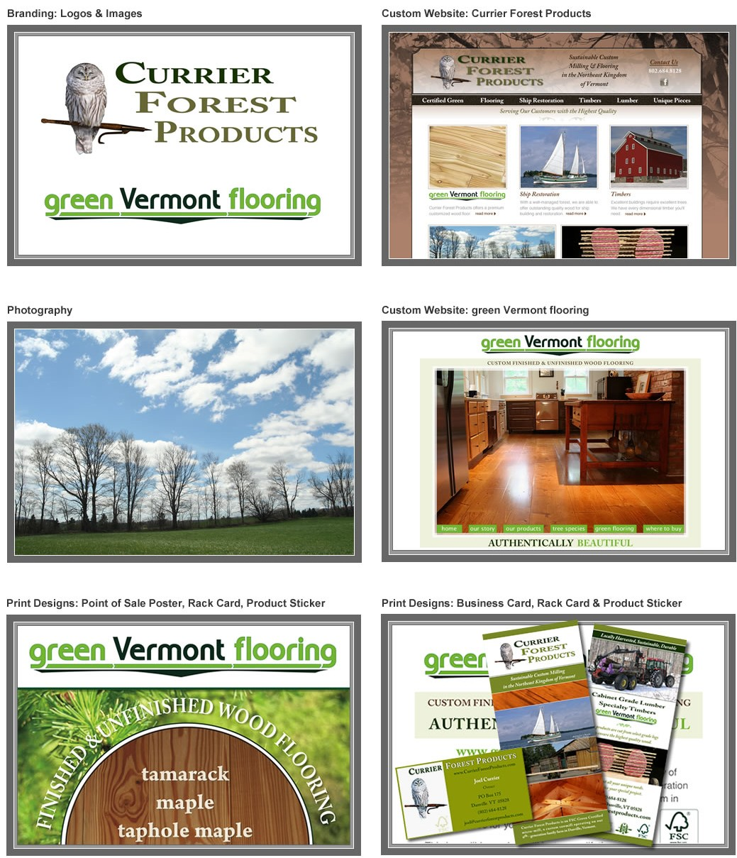 Currier Forest Products & Green Vermont Flooring